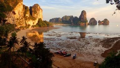 Une semaine d'escalade en Thaïlande, Tonsai... un petit paradis