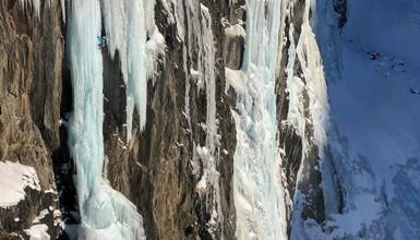 Shiva Lingam Cascade de glace
