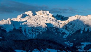 La Tournette en (mono) ski de randonnée
