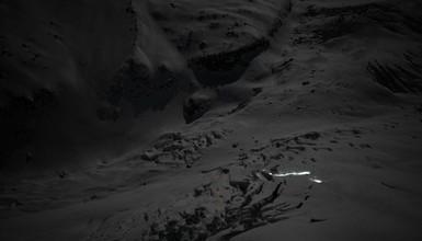Vallée Blanche Full Moon, il y a des jours, comme ça...