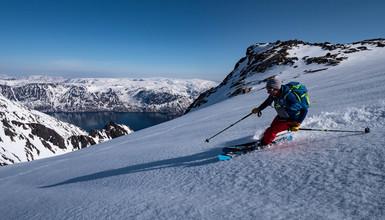 Ski en Norvége- Le Finnmark