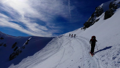 Une journée de ski de rando pa-ra-di-sia-que dans le Chablais